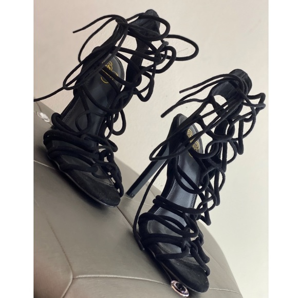 GoJane Shoes - Strappy lace up heels